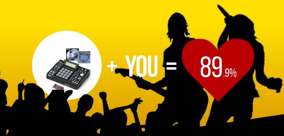 This user scored a 89.9% match with Akai MPC 2500 Bundle 128 MB!