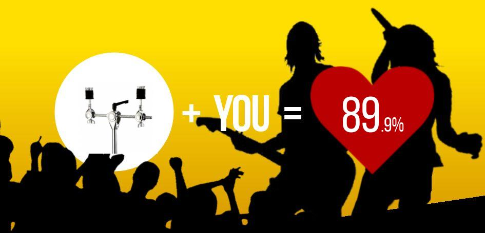 This user scored a 89.9% match with Millenium DB-118 Cymbal Boom Arm!