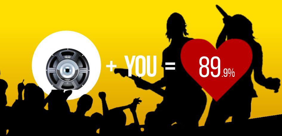 This user scored a 89.9% match with Celestion TF1530!