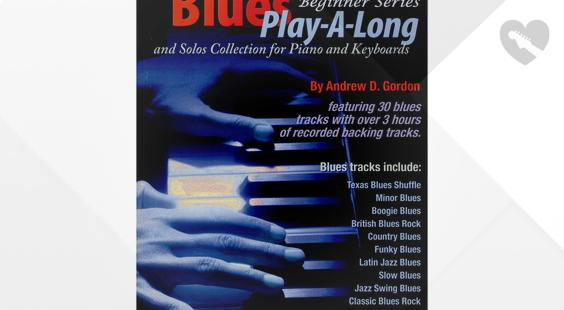 Full preview of ADG Productions The Blues Play Along Solos