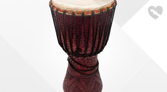 Full preview of Afroton AD S02L Djembe Leopard Design