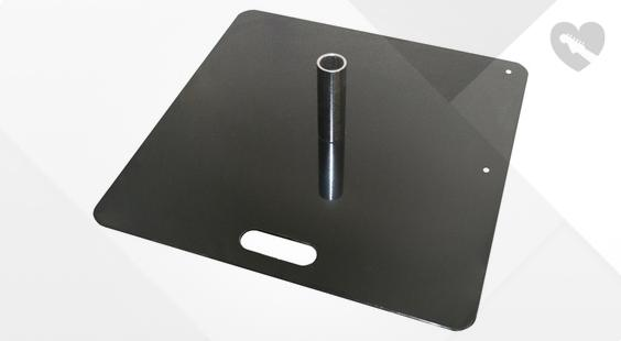 Is Global Truss CC50403 Base Plate Steel 600mm the right music gear for you? Find out!