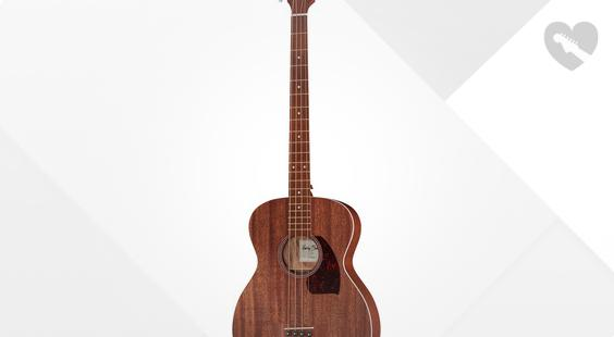 Full preview of Harley Benton B-25M Acoustic Bass