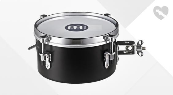 Full preview of Meinl MDST8BK 8' Snare Timbales