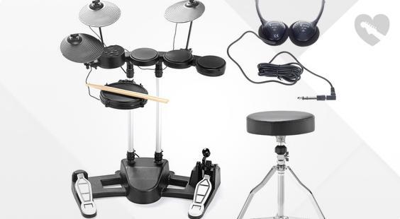 Full preview of Millenium HD-50 E-Drum Set Bundle