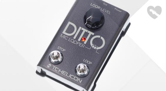 Full preview of TC-Helicon Ditto Mic Looper