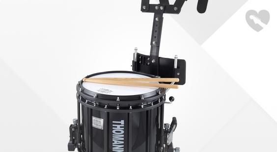 Is Thomann SD1412BL HT Marching Snare the right music gear for you? Find out!