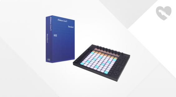 Full preview of Ableton Push Live 9 Standard E Bundle