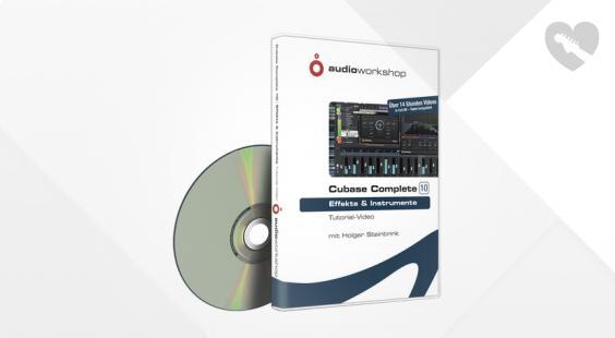 Full preview of Audio Workshop Cubase Complete 10 Effekte