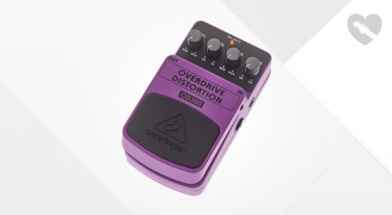 Full preview of Behringer OD300 Overdrive Distortion