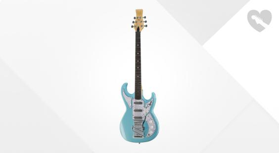 Full preview of Burns Barracuda Bass Baby Blue