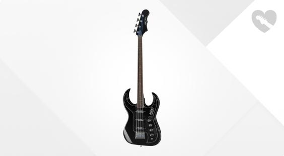 Full preview of Burns Bison 61 Bass Black B-Stock