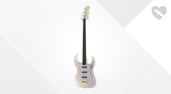 Full preview of Burns Bison 61 Bass Shadows White
