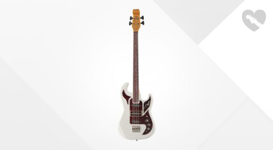 Full preview of Burns Shadow Bass White