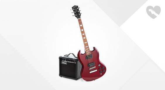 Full preview of C.Giant SG-Style Electric Guitar Set