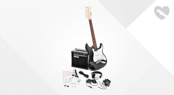 Full preview of C.Giant ST-Style Electric Guitar SetBK
