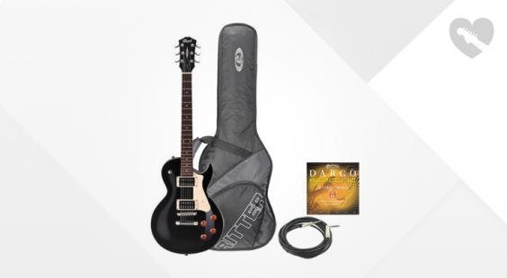Full preview of Cort Classic Rock CR100 BLK Bundle