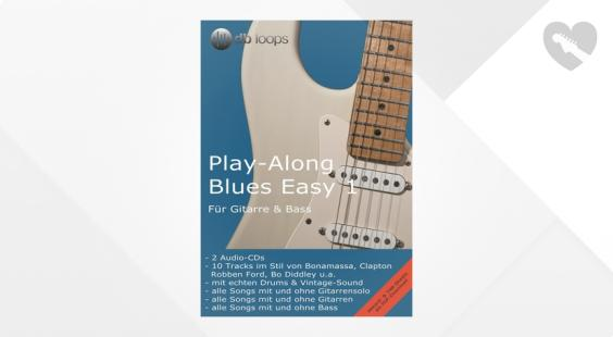 Full preview of db loops Play Along Blues Easy Vol.1