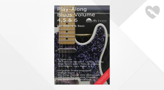 Full preview of db loops Play Along Blues Vol.4, 5 & 6