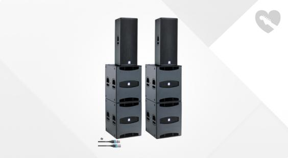 Full preview of dB Technologies Flexsys Concert System