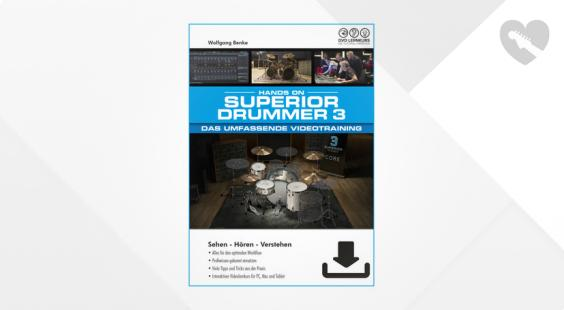 Full preview of DVD Lernkurs Superior Drummer 3 Training
