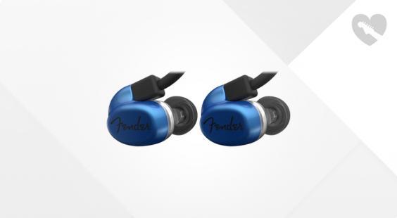 Full preview of Fender CXA1 In-Ear-Monitor Blue