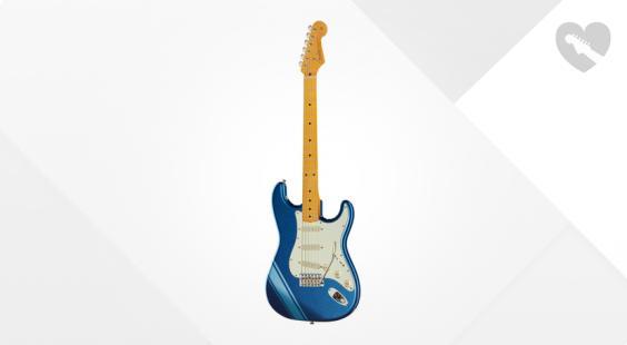 Full preview of Fender FSR 50s Strat W/Stripe B-Stock