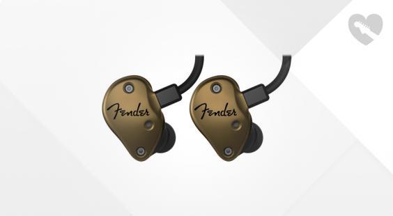 Full preview of Fender FXA7 Pro Gold IEM