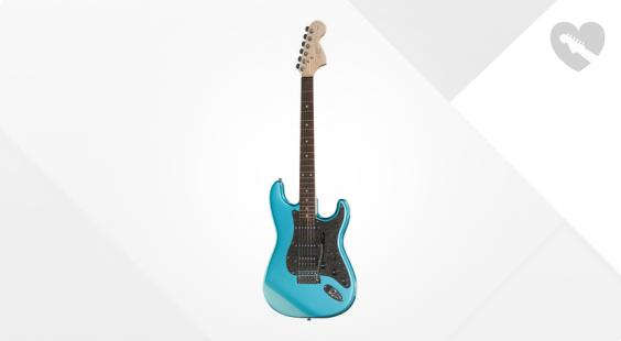 """Take the """"IS IT GOOD FOR ME"""" test for """"Fender Squier Affinity Strat HSS LPB"""", read the reviews and join the community!"""