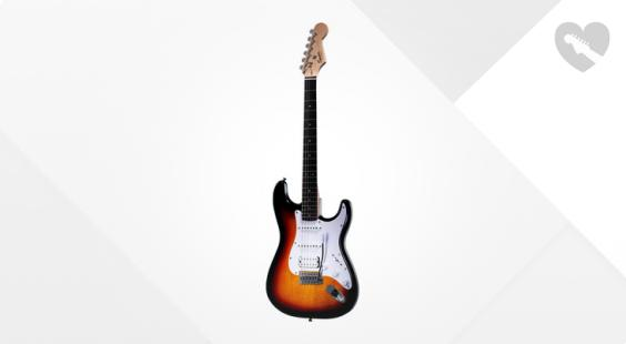 """Take the """"IS IT GOOD FOR ME"""" test for """"Fender Squier Bullet Strat HSS RW BSB"""", read the reviews and join the community!"""