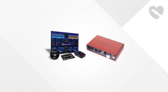 Full preview of Focusrite Scarlett 2i4 DJ-Mouse Bundle