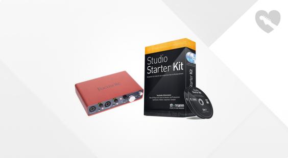 Full preview of Focusrite Scarlett 2i4 Starter Bundle