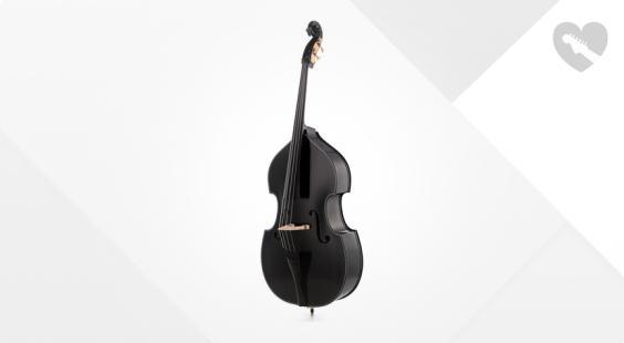 Full preview of Gewa Rockabilly BK Double Bass 3/4