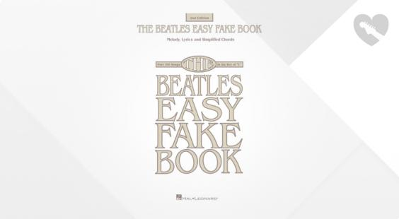 Full preview of Hal Leonard The Beatles Easy Fake Book