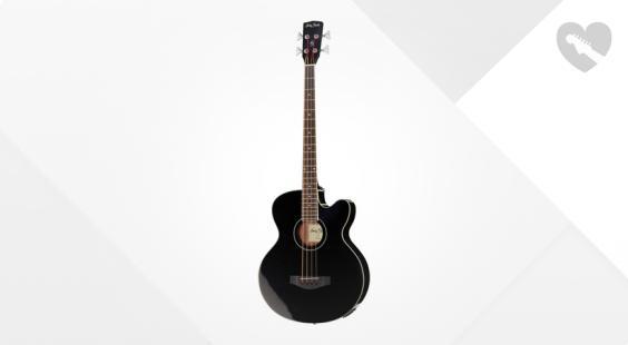 Full preview of Harley Benton B-30BK Acoustic Bass Series