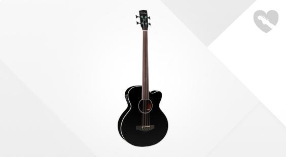 Full preview of Harley Benton B-30BK-FL Acoustic Bass Serie