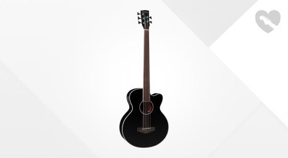 Full preview of Harley Benton B-35BK-FL Acoustic Bass Series