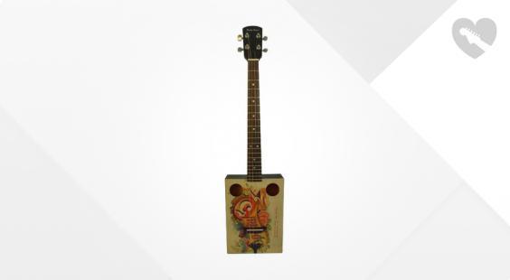 Full preview of Harley Benton CigarBox Guitar