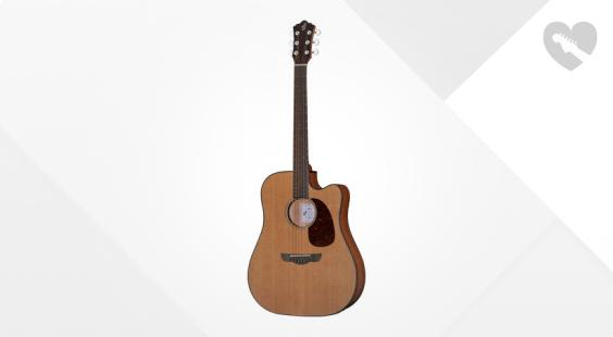 Full preview of Harley Benton CLD-30SCM-CE SolidWood