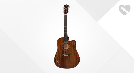 Full preview of Harley Benton CLD-40SM-CE SolidWood B-Stock