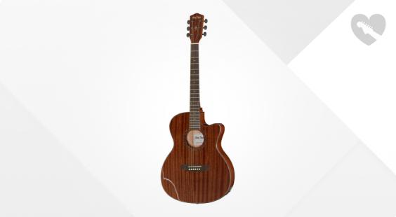 Full preview of Harley Benton EAX-500TL Mahogany