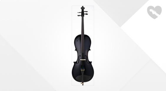 Full preview of Harley Benton HBCEA 900BK E-Cello 4/4
