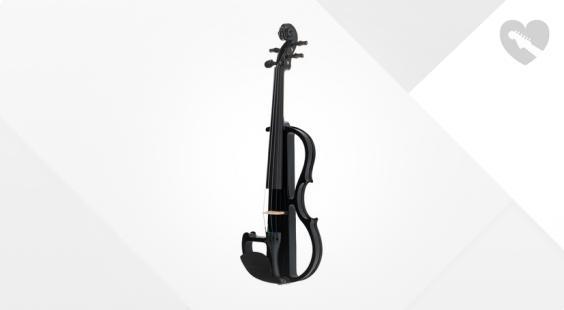 Full preview of Harley Benton HBV 870BK 4/4 Electric Violin