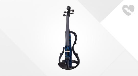 Full preview of Harley Benton HBV 990BLU 4/4 Electric Violin