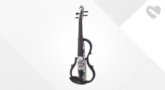Full preview of Harley Benton HBV 990SKL 4/4 Electric Violin