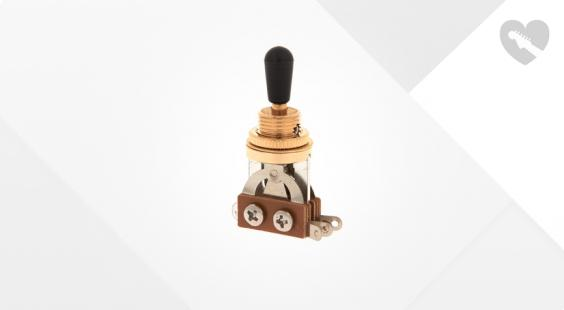 Full preview of Harley Benton Parts Toggle Switch Gold