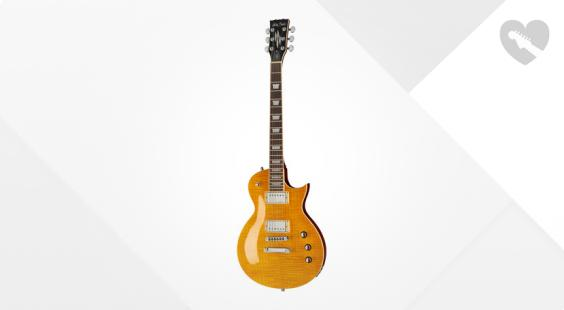 Full preview of Harley Benton SC-Custom Lemon Flame B-Stock