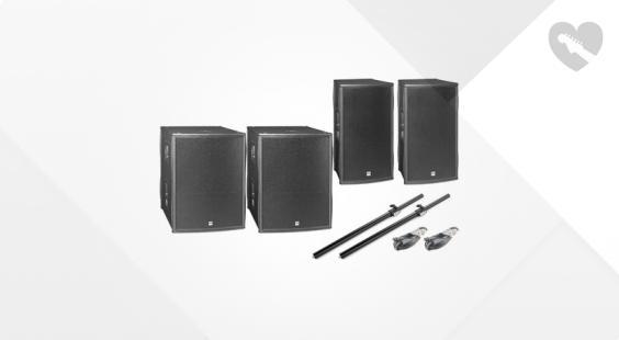 Full preview of HK Audio Pulsar PL Basis Bundle 112