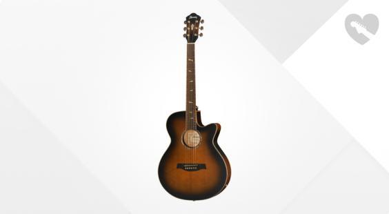 Full preview of Ibanez AEG40II-OAB