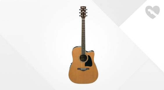 Full preview of Ibanez AW370ECE-NT